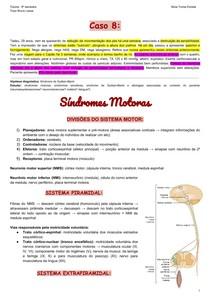 Síndromes motoras e distúrbios sensoriais