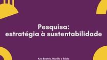 Estratégia à Sustentabilidade - Papelão