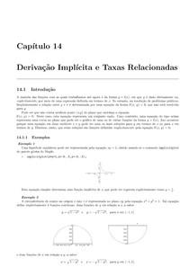 taxas relacionadas e derivação implicita (apenas um capitulo)