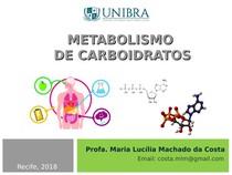 Aula 9   Metabolismo de carboidratos
