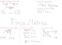 [FÍSICA] Resumo_Força Elétrica