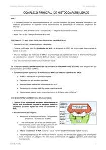 MHC: Complexo Principal de Histocompatibilidade
