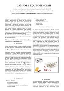 RELATORIO Campos e Equipotenciais