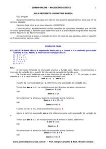 aula 17 -geometria básica