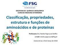 Classificação Propriedades Estrutura E Funções De Aminoácido