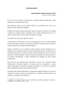 Artigo - Jus Postulandi