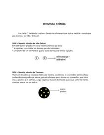 Estrutura Atômica Química Geral I