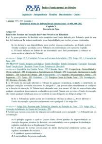 DJi - 103 a 111 - D-004.388-2002 - Estatuto.Roma.Tribunal Penal Internacional