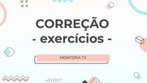 Lista de exercícios - Citologia
