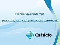 Aula_05  - Planejamento de Marketing.