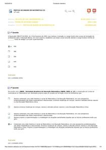 Prática de Ensino em Matemática III 10