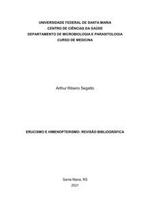 Erucismo e Himenopterismo: Revisão Bibliográfica