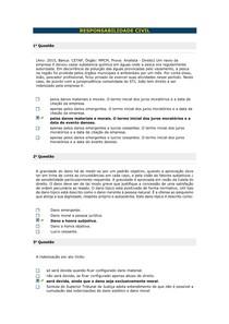 RESPONSABILIDADE CIVIL - Aula 04 III