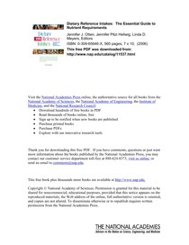 Livro DRI 2006 (Micronutrientes)