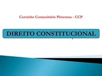 Slide Aberto - Resumo de Direito Constitucional para Concursos