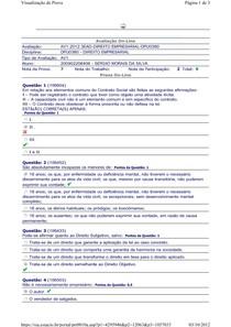 AV1 Direito Empresarial - by SM