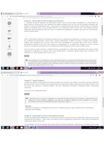 prova discursiva Administração financeira e gerenciamento de capital