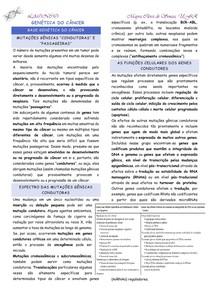 genética do câncer LAONCO