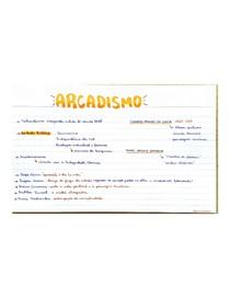 ARCADISMO flashcard
