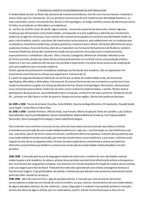 construção da identidade moderna brasileira