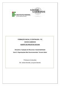 Apostila_Organizações_não_governamentais_Terceiro_setor