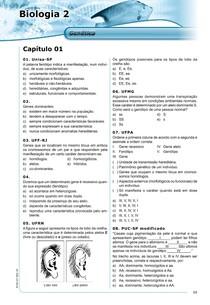 Biologia - Lista de exercícios (+600)