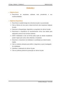CÂNCER DE PELE - MELANOMA - METASTASE