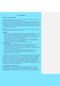 Farmacologia - sistema nervoso autônomo