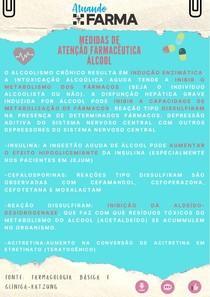 Medidas de Atenção Farmacêutica: Álcool e suas Interações