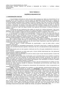 SEQUENCIA ARGUMENTATIVA ESQUEMA COMPLETO