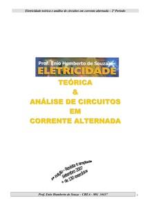 Eletricidade Teorica e Analise de circuitos em corrente alternada