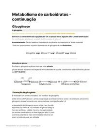 Metabolismo de carboidratos (2)