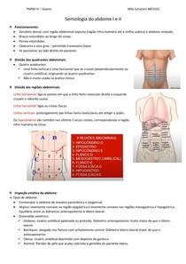 Aula 3 - Semiologia do abdome I e II