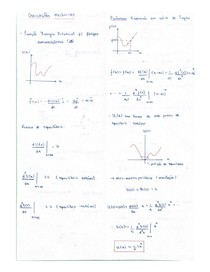Resumo oscilações mecânicas - física II