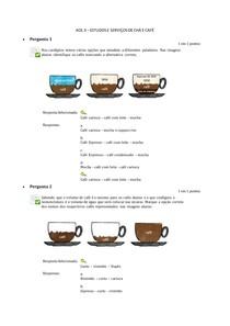 AOL 3 ESTUDOS E SERVIÇOS DE CHÁ E CAFÉ