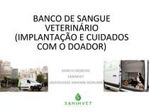 Hemoterapia e Banco de Sangue na Veterinária