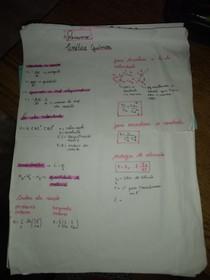 resumo cinética química