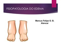 Fisiopatologia do Edema