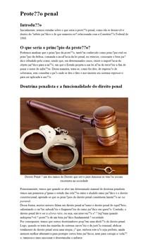 Proteção Penal