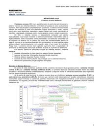 FISIOLOGIA III 01 - Neurofisiologia - COMPLETA - MED RESUMOS 2011