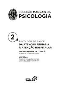 psicologia da sade da ateno primaria a ateno hospitalar