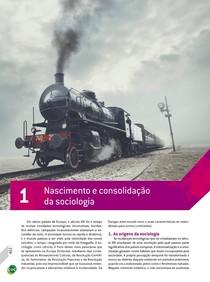 01 - Teoria / Nascimento e consolidação da sociologia