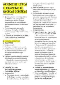 MÉTODOS DE ESTUDO E TRATAMENTO DE DOENÇAS GENÉTICAS -ODONTOG