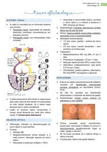 Resumo Neuro-oftalmologia