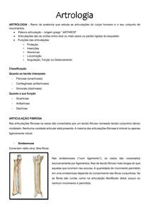 Generalidades do Sistema Articular - ARTROLOGIA VETERINÁRIA