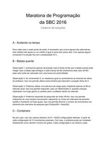SolucoesdaRegionaldaMaratona2016