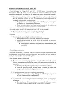 Material de Apoio 08 - Homologação do Penhor Legal