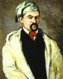 Paul Paul Cézanne - Portrait of a Man in a Blue Cap