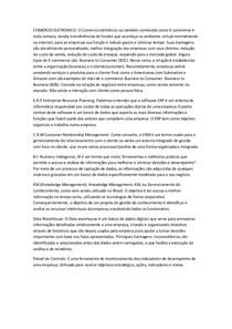 COMERCIO ELETRONICO