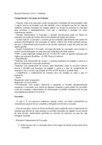 Resumo Processo Civil V 1  bimestre